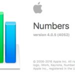 Numbers (mac OS), astuces et raccourcis clavier